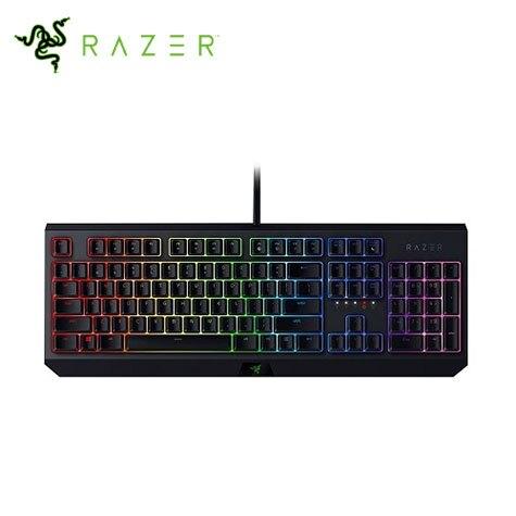 Razer Blackwidow 黑寡婦幻彩版機械式鍵盤/綠軸(青軸感)/中文/RGB