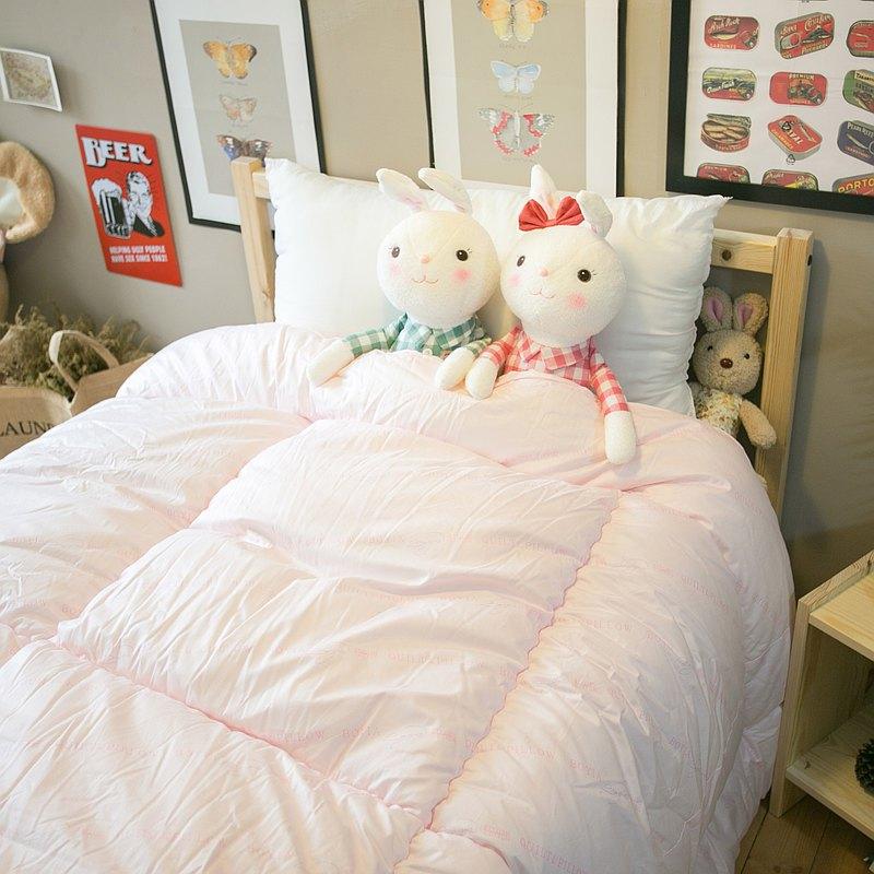 韓式棉絨雙人被(6尺*7尺)  表布純棉  品質優良 台灣製造