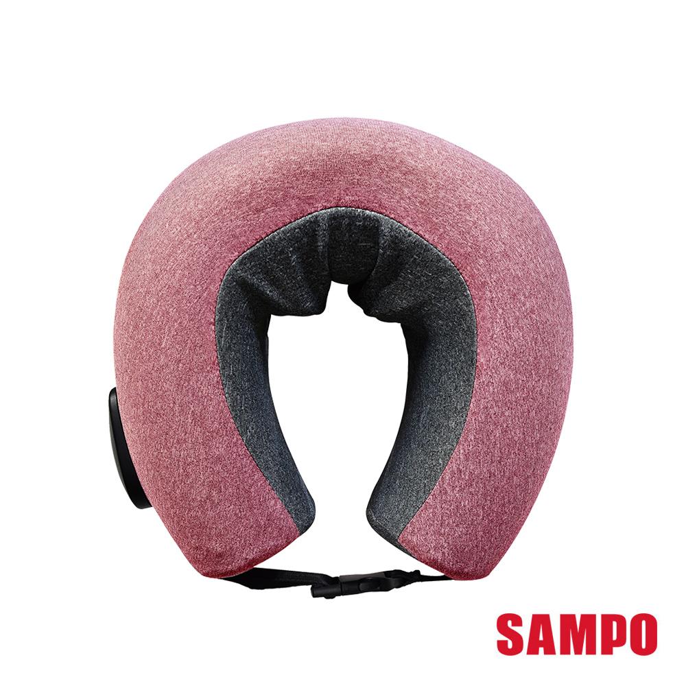 SAMPO聲寶 多功能無線肩頸熱敷按摩器 ME-D1901EL