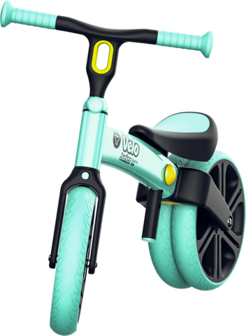 Y-Volution VELO Junior可變單雙輪模式平衡滑步車/學步車 綠