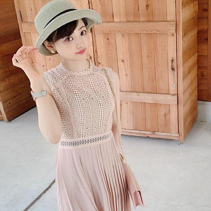 ICHIYON PLUS可清洗可愛夏季刀片式帽子防曬可折疊攜帶方便寬邊時尚布列塔尼遮陽帽ihat0333