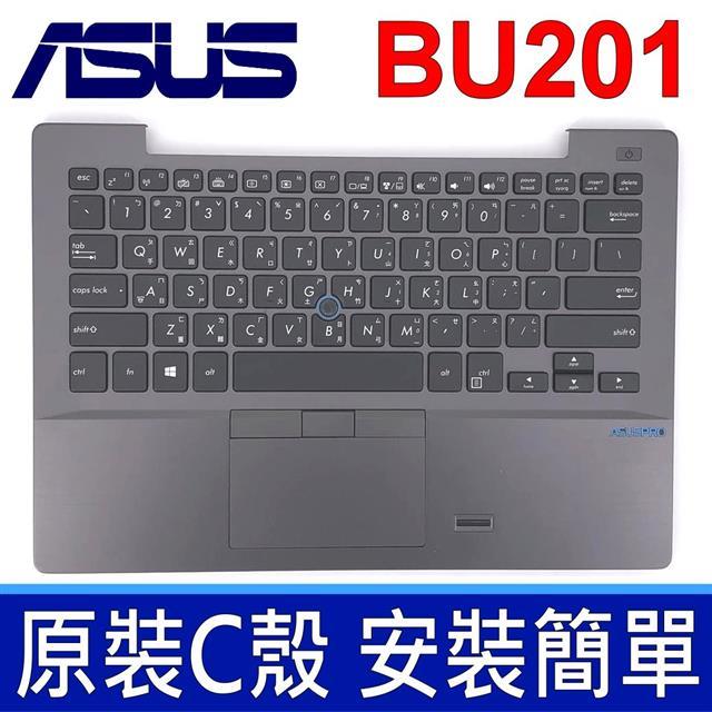ASUS 華碩 BU201 C殼 黑色 繁體中文 筆電 鍵盤 Asus Pro Advanced BU201LA