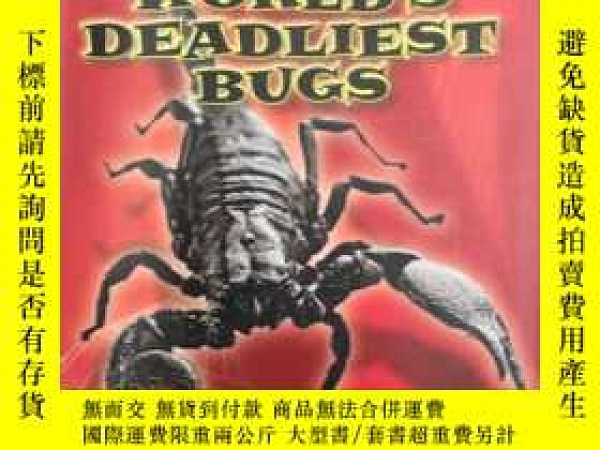 二手書博民逛書店THE罕見WORLD S DEADLIEST BUGS 世界上最