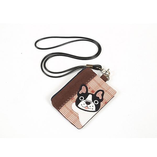 鬥牛犬證件套/零錢包/拼布包包
