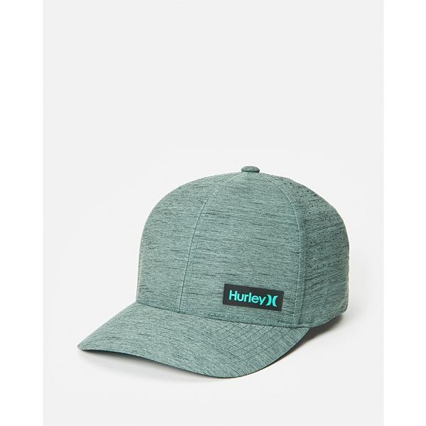 Hurley M DF MARWICK ELITE HAT DK SMOKE GREY 棒球帽(綠)