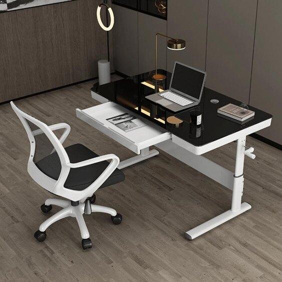 兒童書桌 升降桌學習課桌站立辦公電腦台式桌書桌兒童學生學習寫字桌電競桌