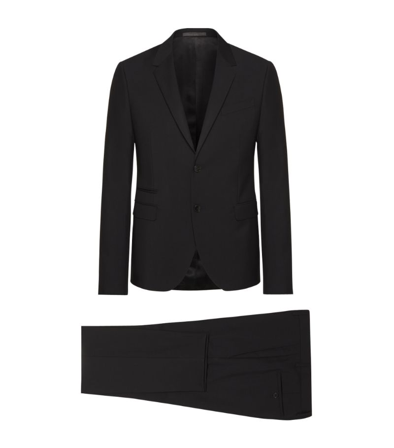 Valentino Wool-Mohair Suit