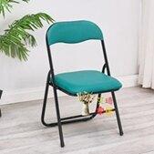 靠背折疊凳 中高折疊椅子35高成人矮椅家用靠背椅學生學習便攜座椅小凳子T 全館免運