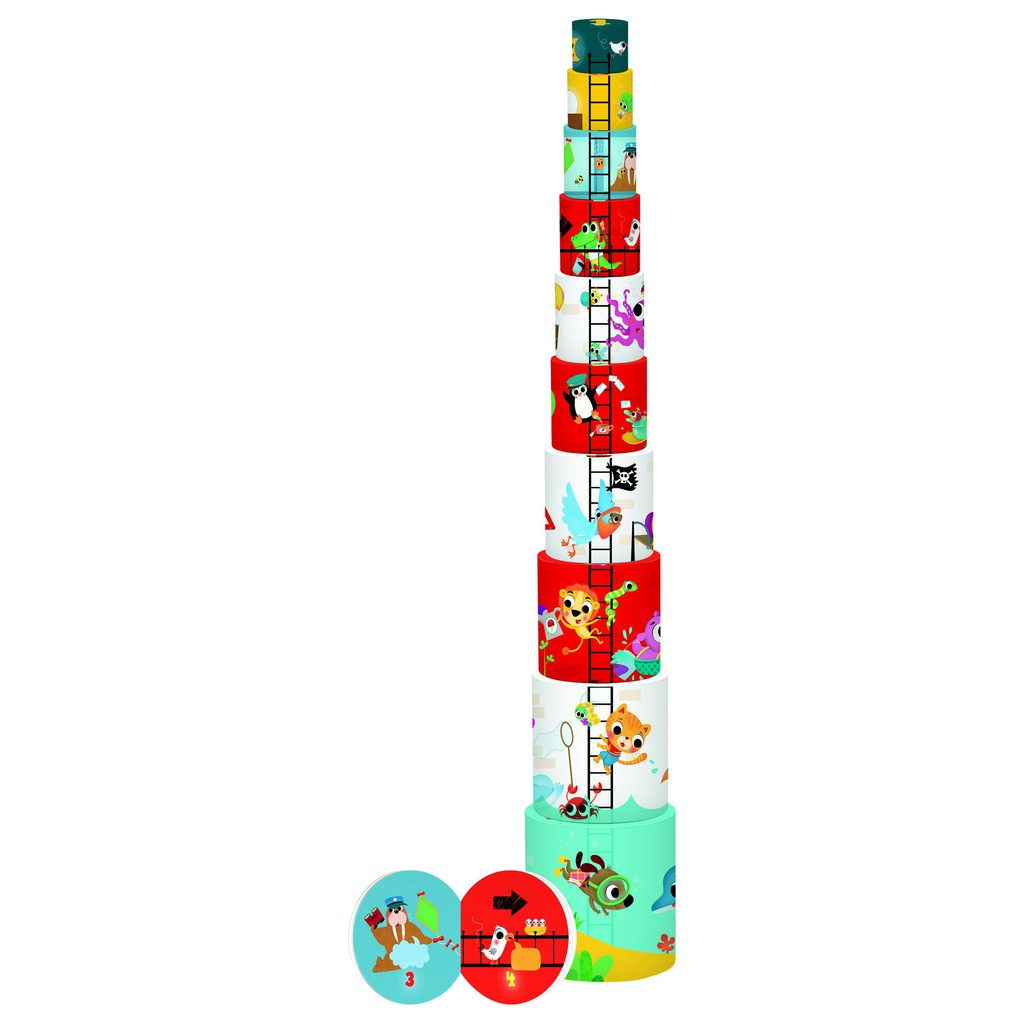 Book Tower Lighthouse 操作書 遊戲書【歌德書店】