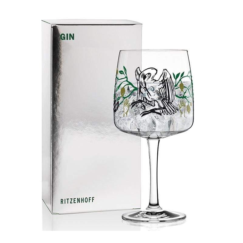琴酒杯 - 仙鶴