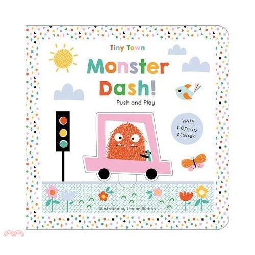 Monster Dash - Tiny Town Push & Play (硬頁書)【三民網路書店】[79折]