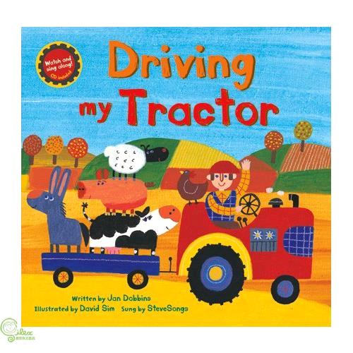 Driving My Tractor (1平裝+1影音CD)【禮筑外文書店】(有聲書)[75折]
