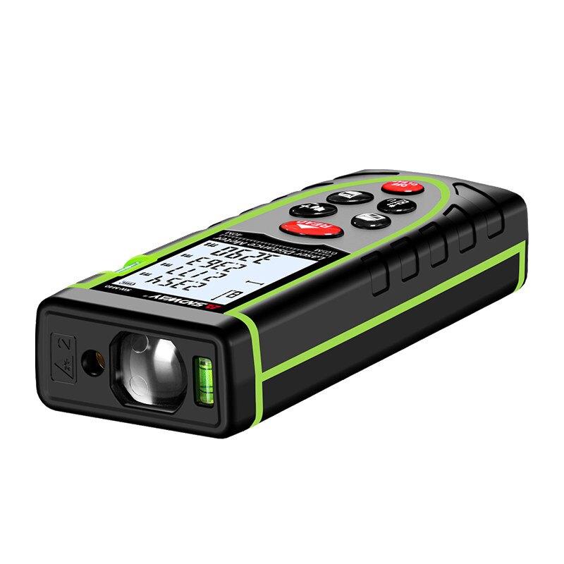 深達威手持式紅外線測距儀雙感光孔激光測距 免運