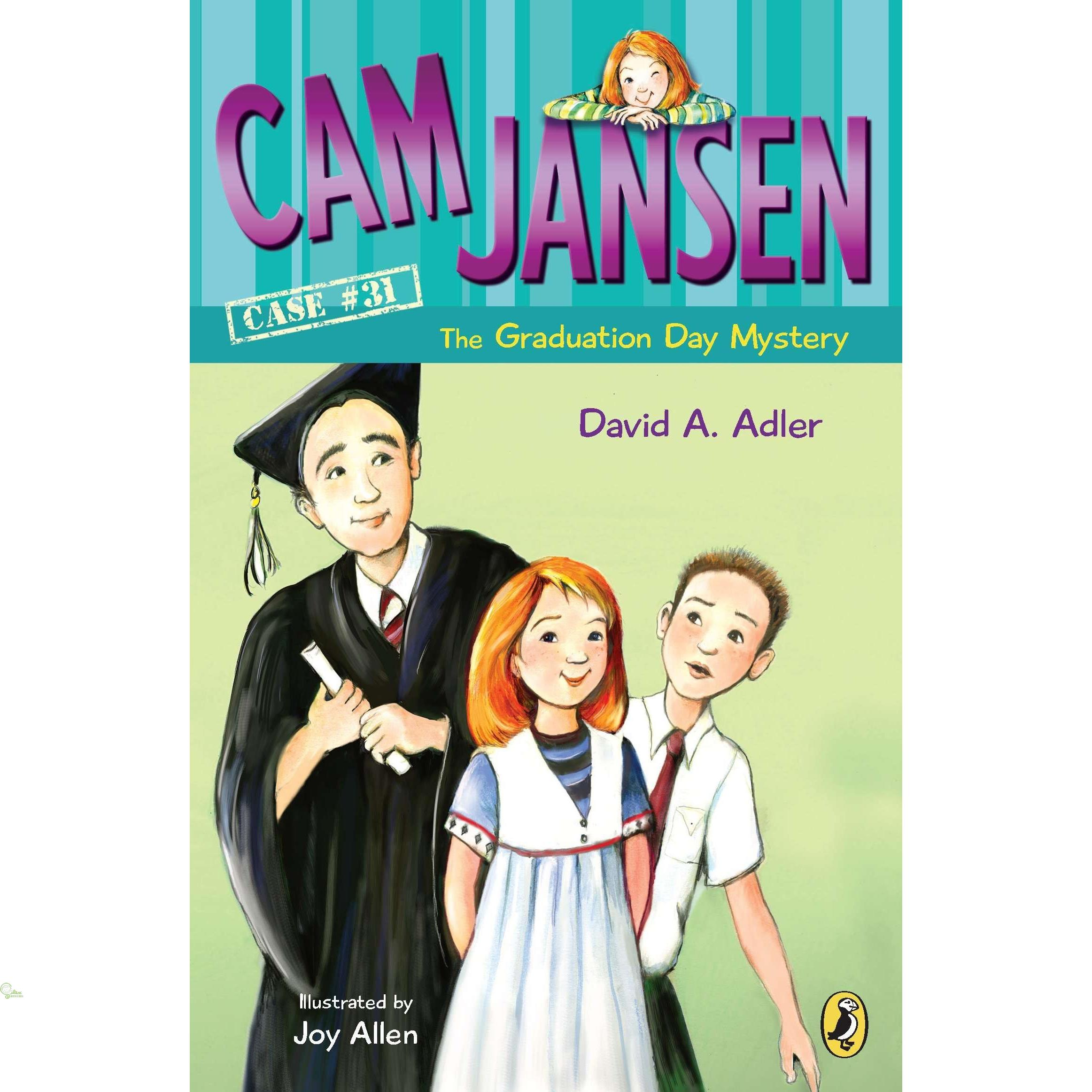 The Graduation Day Mystery (Cam Jansen #31)【禮筑外文書店】[73折]