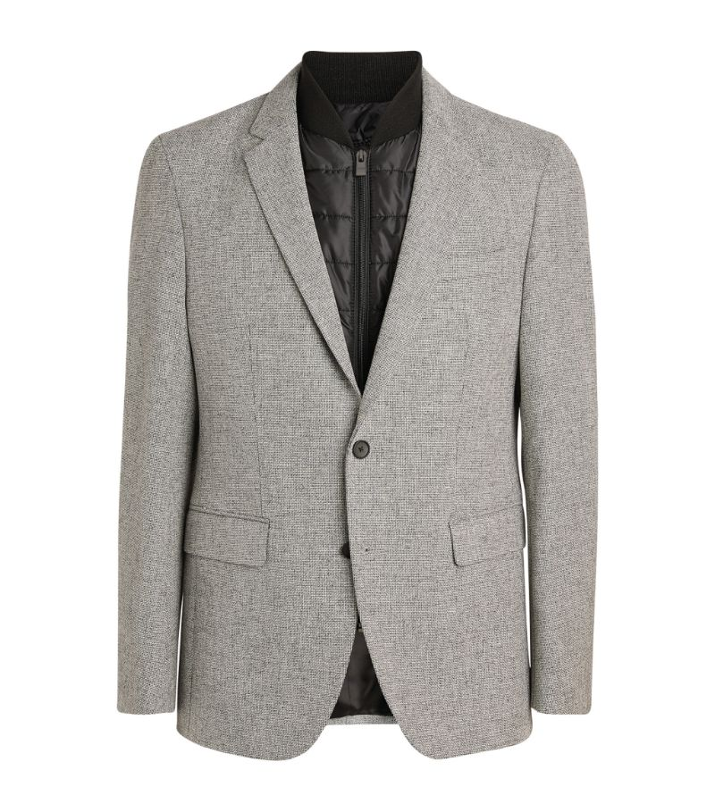 Boss Blazer With Gilet Insert