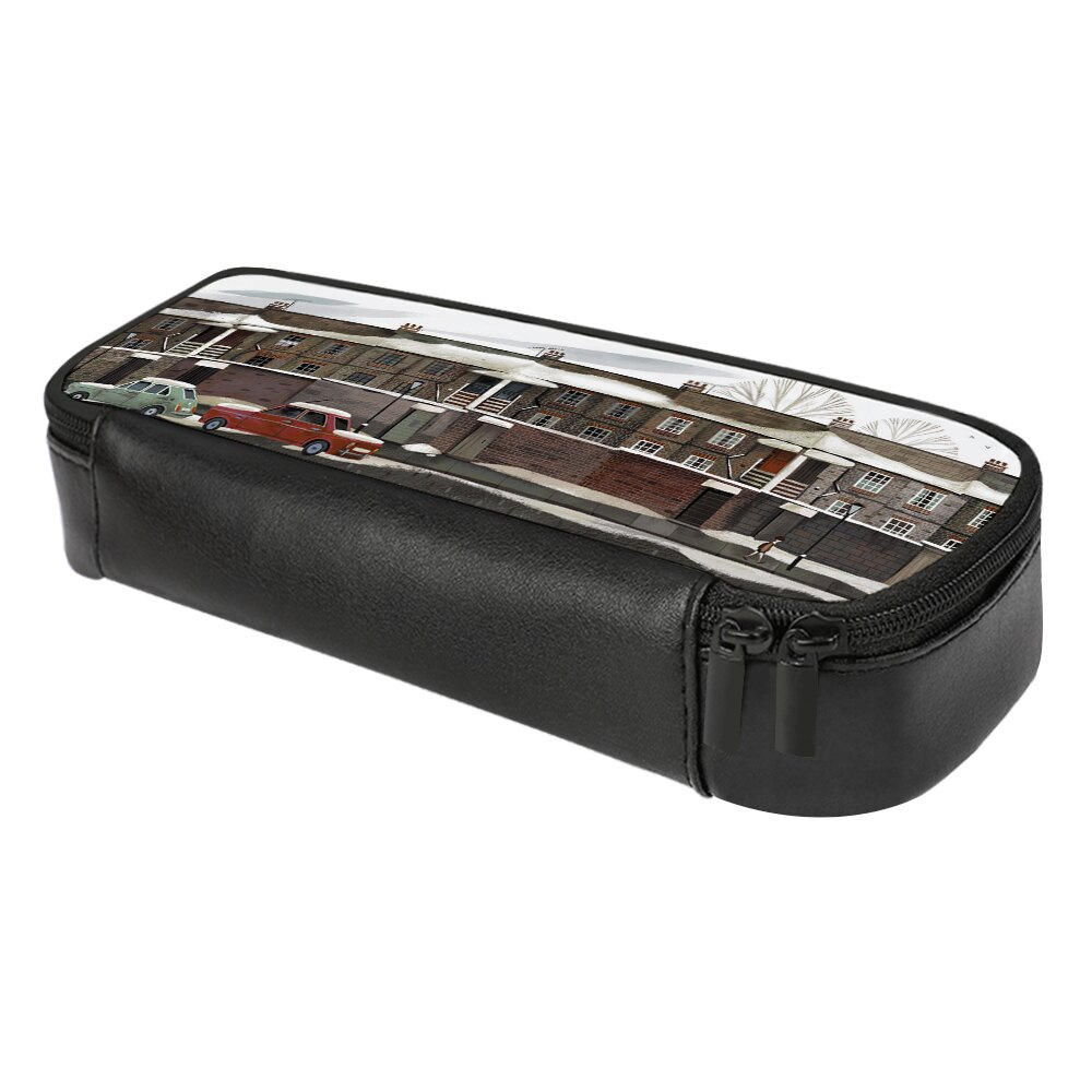 皮革筆袋 皮革鉛筆盒 鉛筆盒 辦公用品 設計師商品