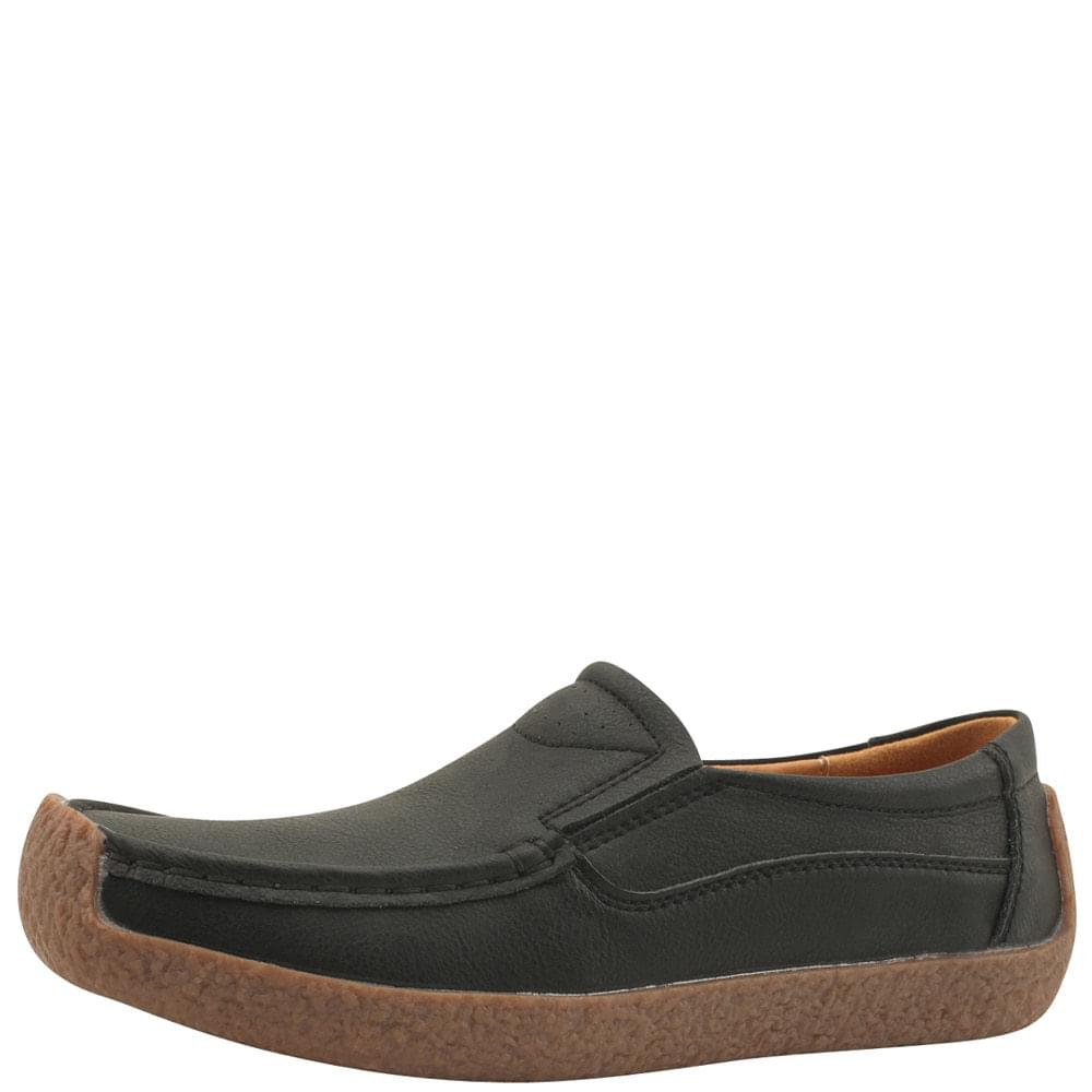 韓國空運 - Comfort Simple Shoes Loafers Black 樂福鞋