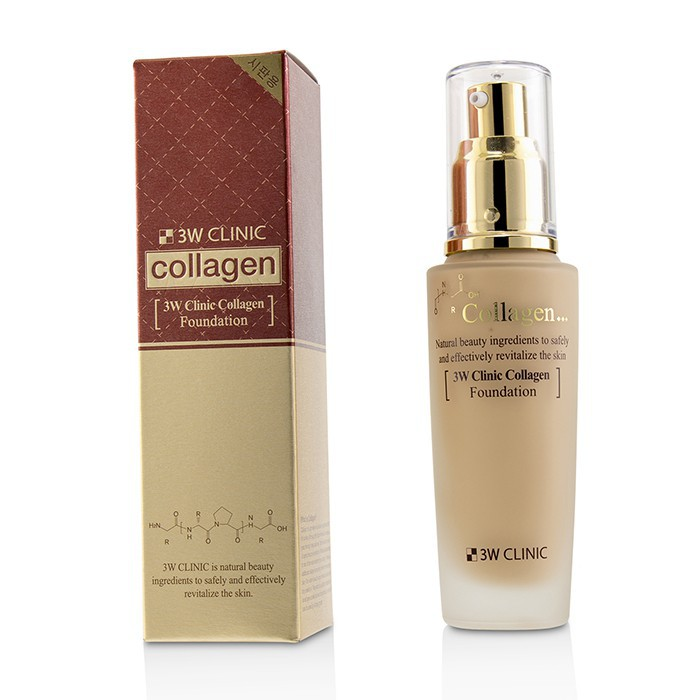 3W CLINIC - 膠原蛋白粉底液Collagen Foundation
