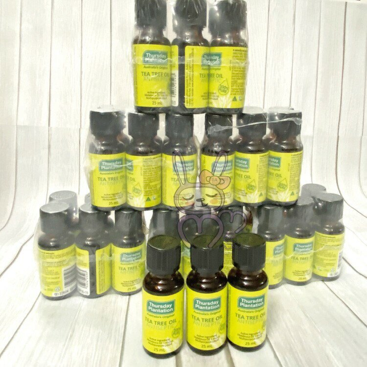 澳洲 星期四農莊 茶樹精油25ml隨身瓶 【咪咪兔小舖】 精油 茶樹精油 尤加利精油