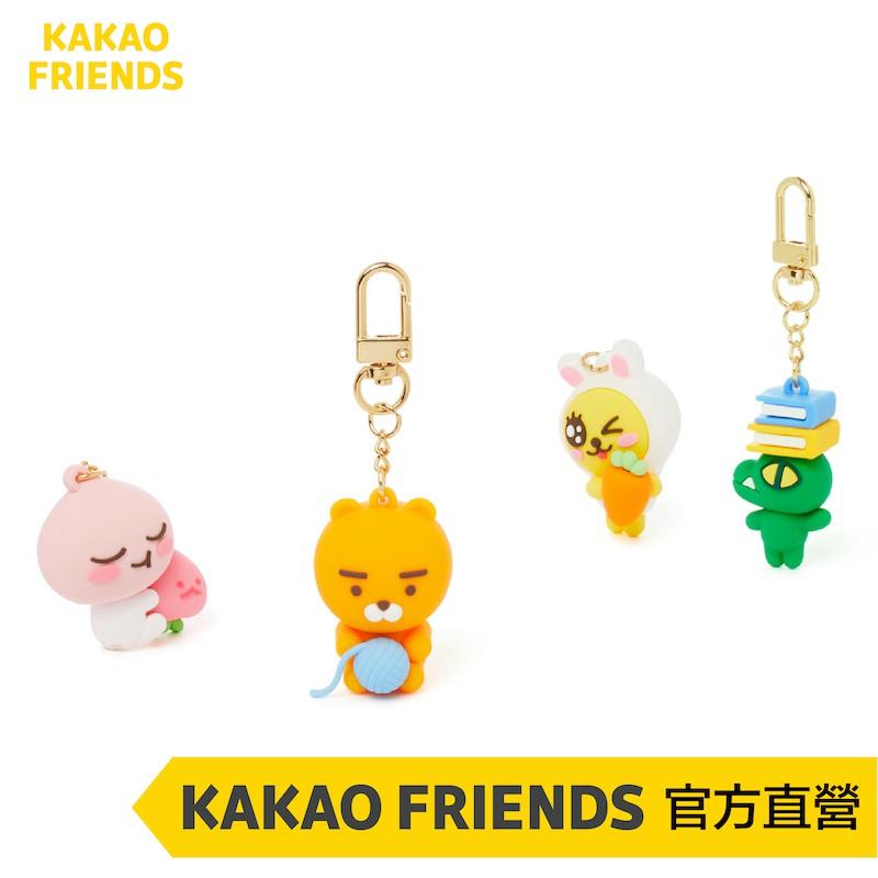 KAKAO FRIENDS 萊恩 桃子 CON MUZI 耳機吊飾 鑰匙圈