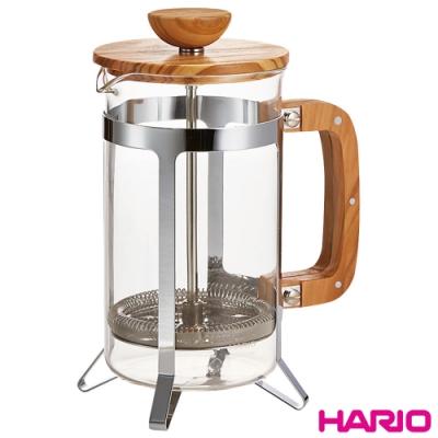 HARIO 橄欖木濾壓壺600ml / CPSW-4-OV
