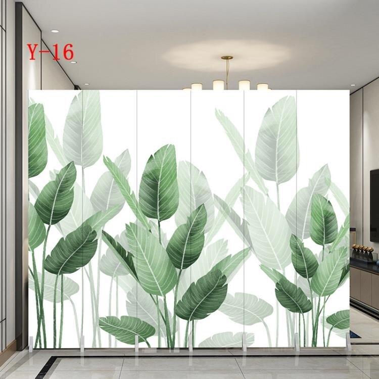 夯貨折扣!屏風 屏風隔斷墻客廳折疊移動玄關簡約現代臥室遮擋家用辦公室裝飾折屏