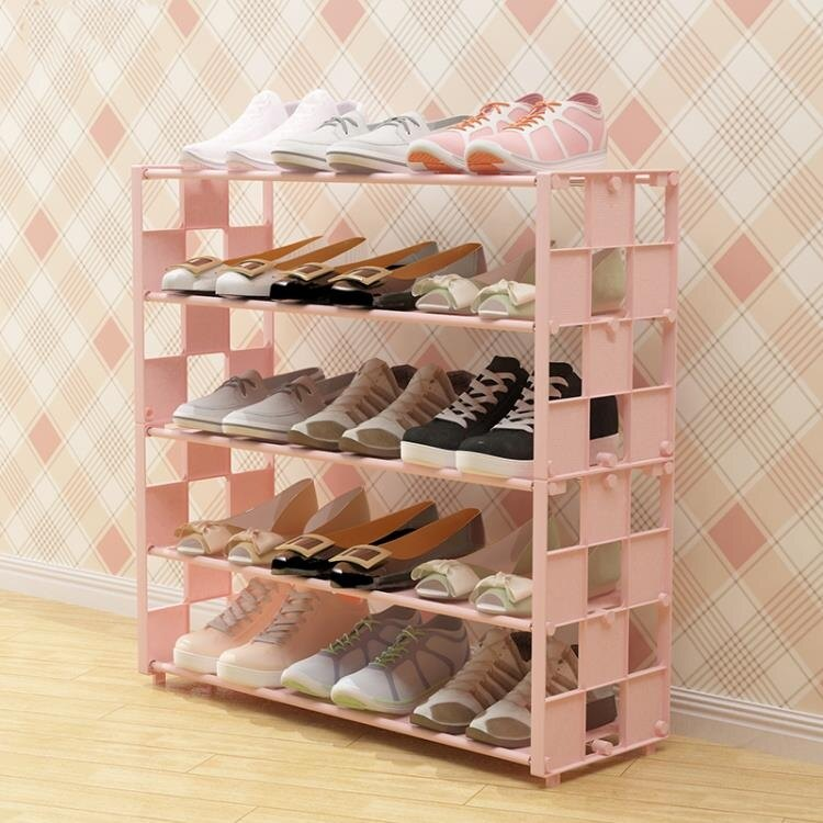鞋架多層簡易放門口家用經濟型收納防塵小鞋櫃宿舍鞋架子室內好看