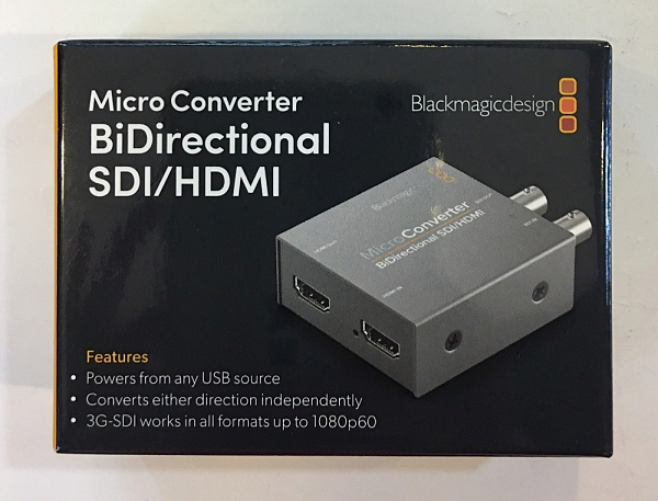 【無AC】 Micro Converter BiDirectional SDI/HDMI 雙向轉換器 Blackmagic Design