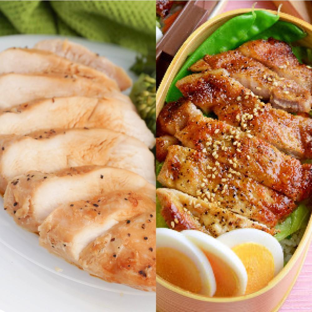 雞豬雙拼福箱 里肌豬排+雞胸 高蛋白控醣 (免運 30件組)