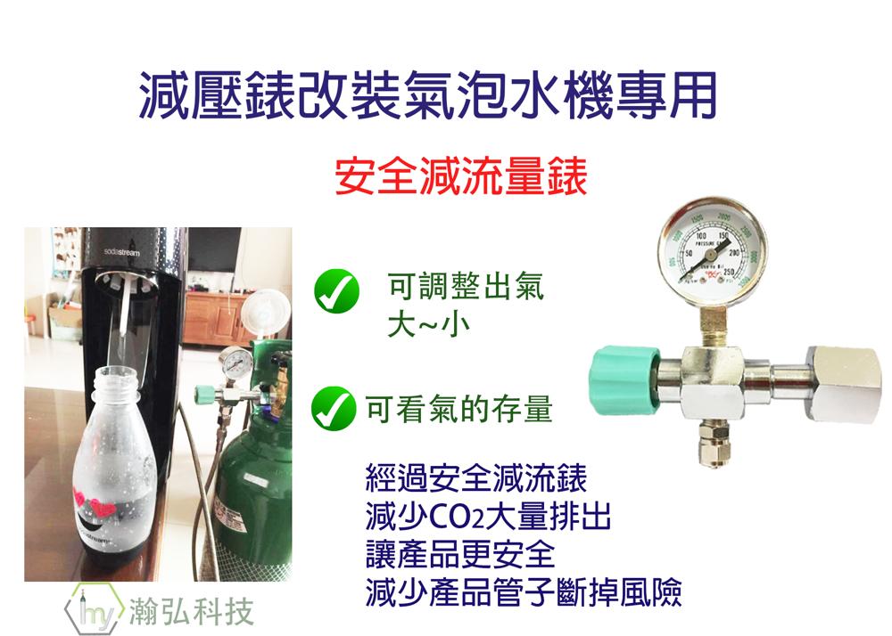 co2 錶  氣泡水機 改裝專用 錶 二氧化碳錶 減壓錶