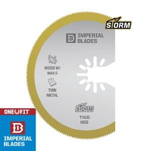 【美國硬派Imperial blades】磨切機鋸片 圓型多用途 鍍鈦
