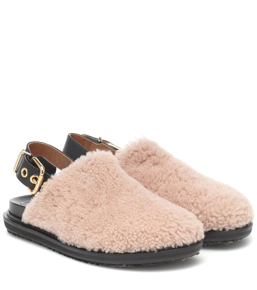 Fussbett shearling slippers