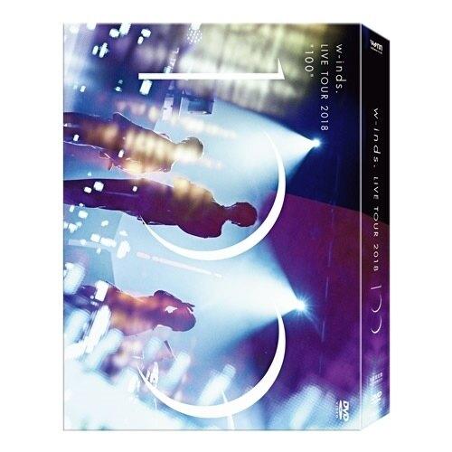 "【停看聽音響唱片】【DVD】w-inds.:w-inds. LIVE TOUR 2018 ""100"" (2DVD+2CD)"