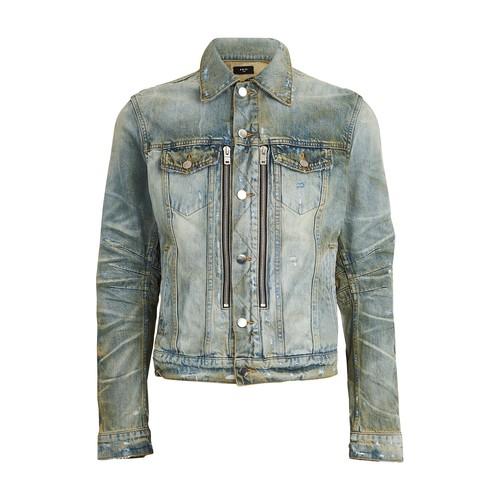 Bandana trucker jacket