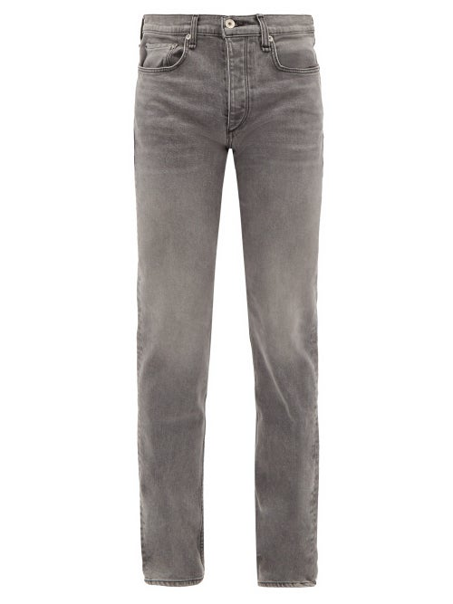 Rag & Bone - Fit 2 Slim-leg Jeans - Mens - Grey