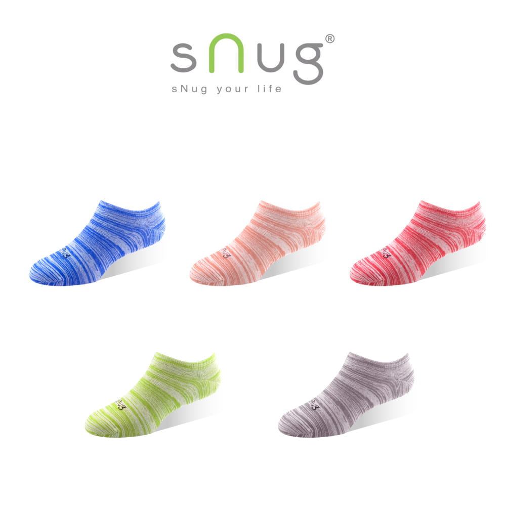 sNug 繽紛時尚船襪 (除臭襪/船型襪/短襪)