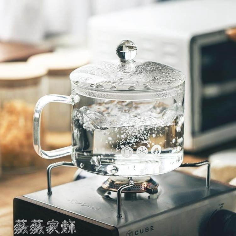 泡麵碗 WUXIN加熱泡面碗帶蓋日式大容量易清洗微波爐網紅玻璃透明泡面碗
