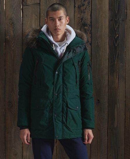 Superdry Premium Down Parka Coat
