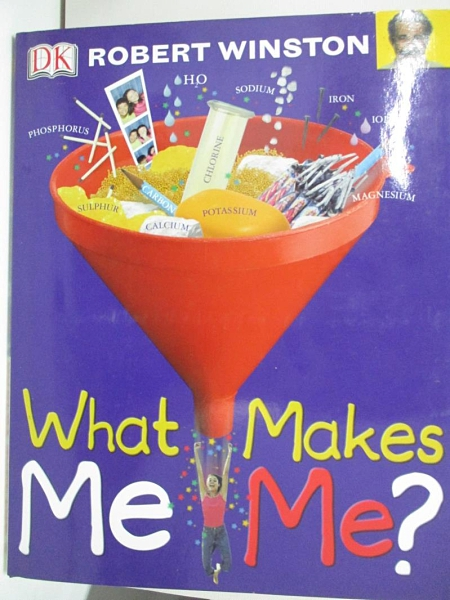 【書寶二手書T4/兒童文學_DQ2】What Makes Me Me?_Robert M. L. Winston