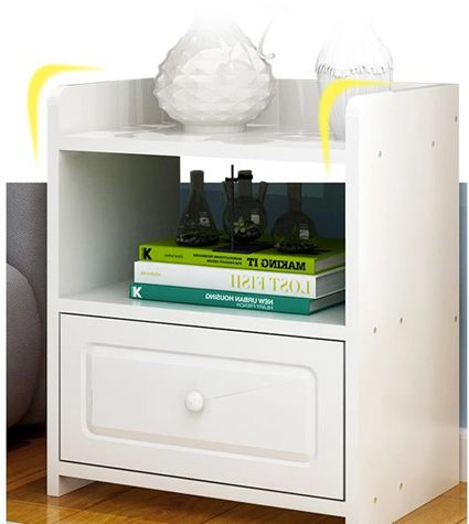 床頭櫃歐意朗簡易床頭櫃臥室收納櫃簡約現代抽屜式床邊櫃經濟型儲物櫃子全館促銷限時折扣