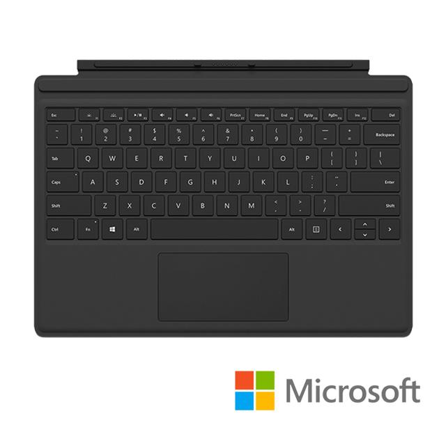 Microsoft 微軟 Surface pro 實體鍵盤保護蓋 黑色(FMM-00018)