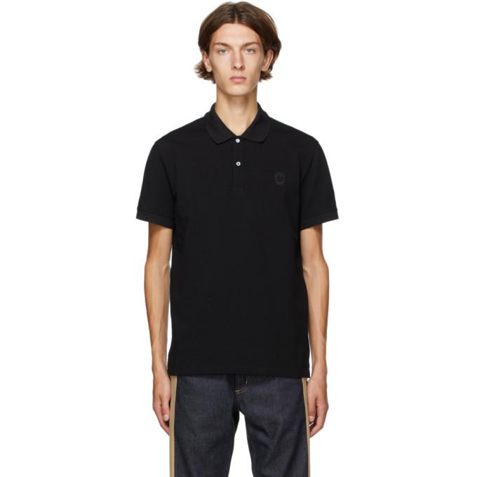 Alexander McQueen 黑色 Skull Polo 衫
