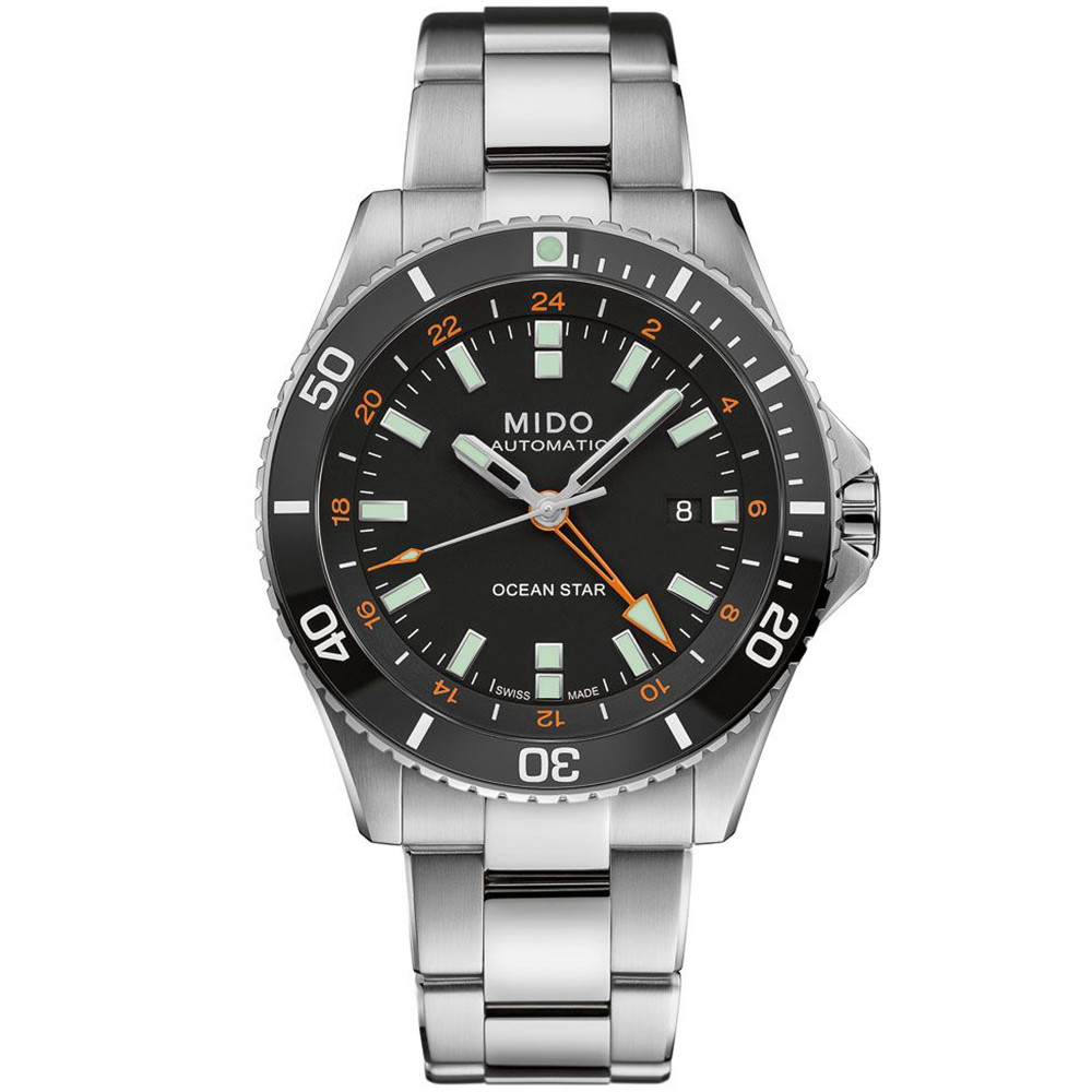 MIDO 美度 海洋之星動力儲存80小時200米潛水機械錶/44mm/M0266291105101