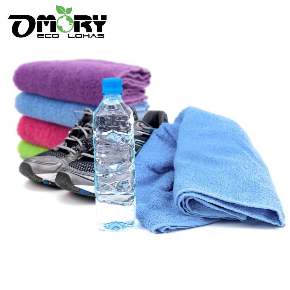 【OMORY】棉質運動毛巾(4色)