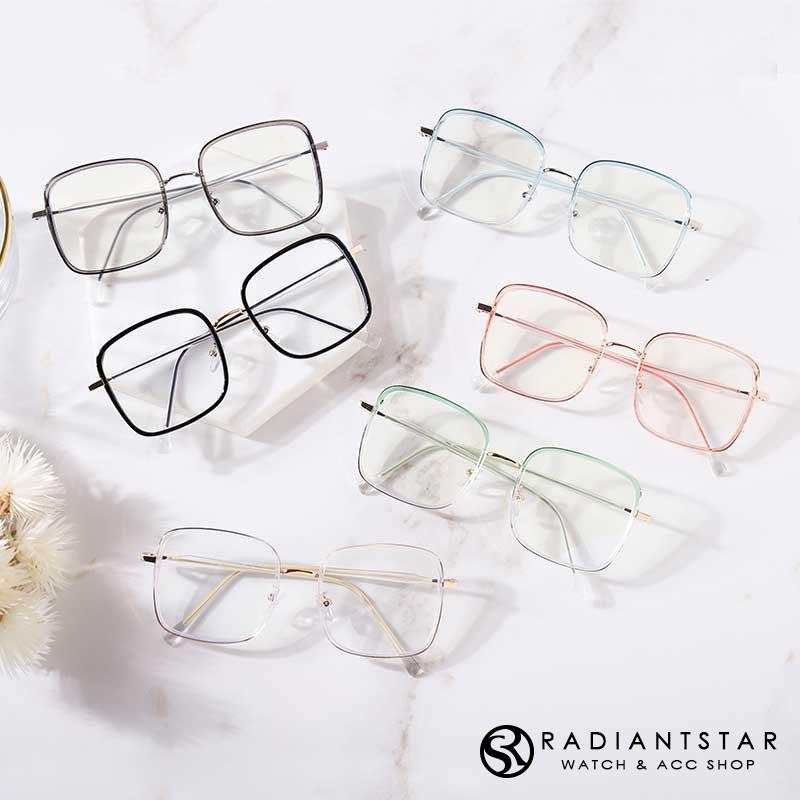 今日天氣晴防藍光透明漸層方框平光眼鏡【GTR6055】璀璨之星