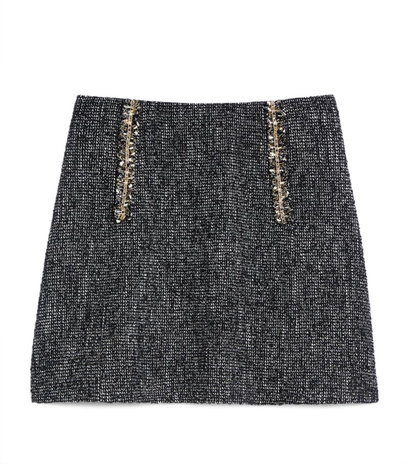 Sandro Paris Tweed Skirt