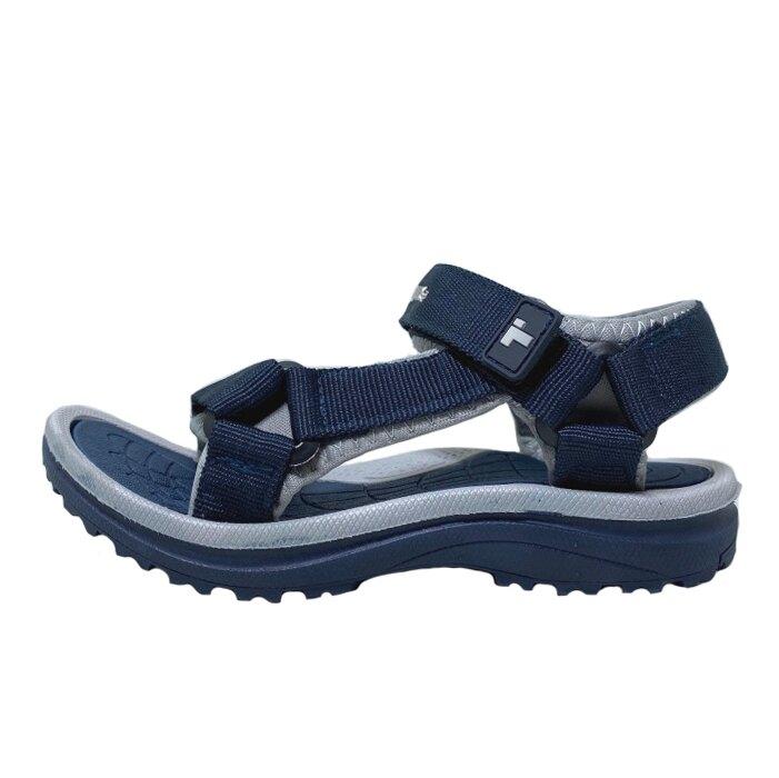 【滿額領券折$150】TOPUONE 童款可調超輕織帶運動涼鞋 [618323] 藍【巷子屋】