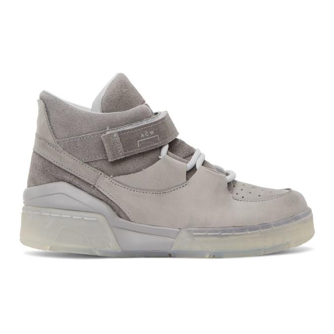 A-COLD-WALL* 灰色 Converse 联名 ERX 206 Mid 高帮运动鞋