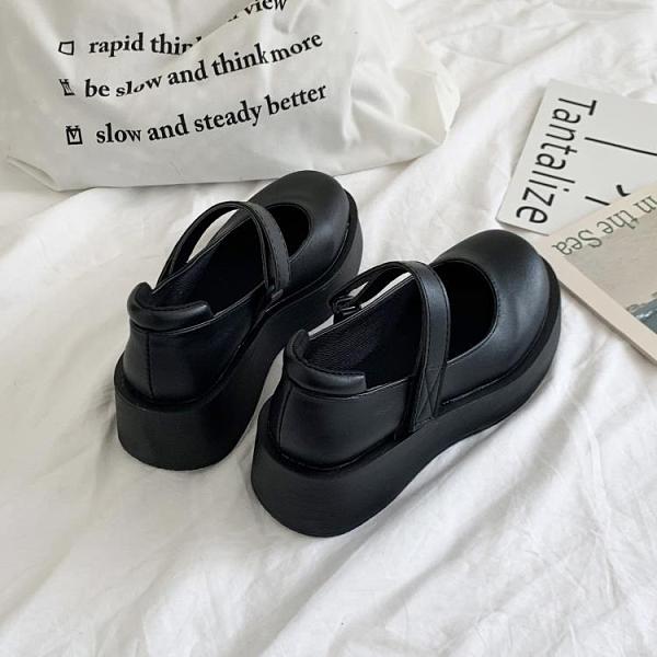 春季英倫學院風百搭洛麗塔復古瑪麗珍鞋厚底漆皮小皮鞋女-Milano米蘭