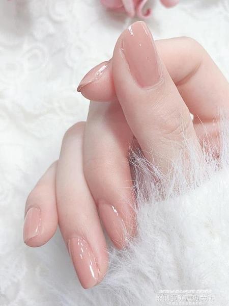 指甲油年可撕拉指甲油免烤快干持久女無毒無味孕婦裸色新色腳膠美甲 萊俐亞